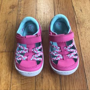 Stride Rite Shoes - Stride Rite Pink Fisherman sandals